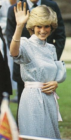July 22, 1983:  Princess Diana attends the opening of the King's Lynn Festival, a Concert at St Nicholas' Chapel, King's Lynn, Norfolk