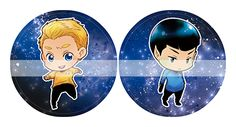 Kirk and Spock :)