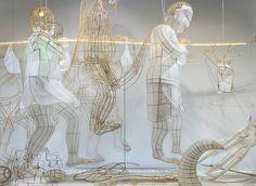 Bamboo & Paper Creatures Sculptures by Ai WeiWei in Paris – Fubiz Media
