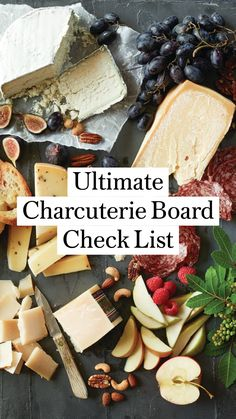 Charcuterie Board Meats, Charcuterie Recipes, Charcuterie And Cheese Board, Cheese Boards, Party Food Platters, Cheese Platters, Party Snacks, Appetizer Recipes, Healthy Snacks
