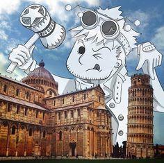 Fun & Playful Illustrations 'Interact' With The World's Landmarks - Cheryl H