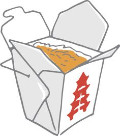 chinese food in box png vector clipart graphics pinterest rh pinterest com chinese food clipart free chinese food clipart images