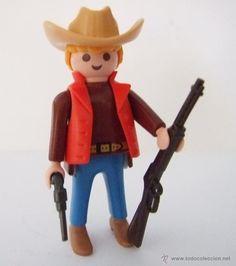 Playmobil Vaquero, cowboy del oeste, western, ranchero