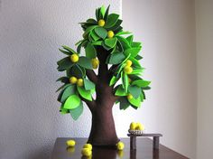 felt tree - mine was an oak with acorns I gathered with the daughter who likes to go outside. We use it in primary.