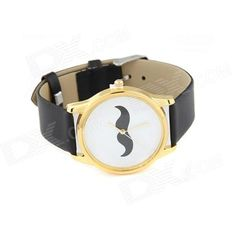 Color: Black + White; Quantity: 1 Piece; Casing Material: Zinc Alloy; Wristband Material: PU leather; Suitable for: Adults; Gender: Unisex; Style: Wrist Watch; Type: Fashion watches; Display: Analog; Movement: Quartz; Display Format: 12 hour format; Water Resistant: NO; Dial Diameter: 3.6 cm; Dial Thickness: 0.6 cm; Wristband Length: 19 cm; Band Width: 3 cm; Battery: 1 x 337 battery (included); Packing List: 1 x Watch; http://j.mp/1Au2msm
