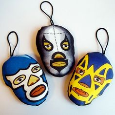 Lucha Libre ornament