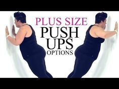 Push Up Exercise Modification - plus size - workout - episode 5 - Repi Fitness Fitness Workouts, Circuit Training Workouts, Sport Fitness, Fitness Diet, At Home Workouts, Fitness Motivation, Health Fitness, Exercise Motivation, Planet Fitness