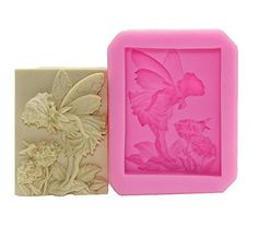 3D Nonstick Cake Mold, Chocolate Mold, Silicone Mold, Soap Molds, Silicone Baking Mould-Flower Angel