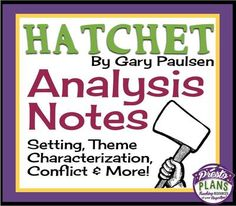 An analysis of the theme in the hatchet a novel by gary paulsen