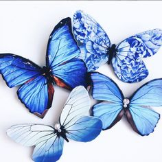 Handmade Butterflies that will make you feel connected to Nature all day long! Bride or Bridesmaids accessory