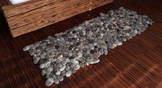 """Designer cria lindos """"tapetes de pedra"""" artesanais com diversos tipos de lã - Stylo Urbano #design #tapetes #lã"""