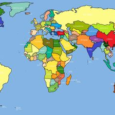 10 Best Hd Map Of The World FULL HD 1920×1080 For PC Desktop 2018 free download world map free large images 1 800x800 World Political Map, Desktop Computers, Wallpaper, Bing Images, Maps, Free, Blue Prints, Wallpapers, Map