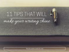 make writing shine