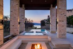 HGTV loves this uniquely designed home elevated on columns above the swimming…