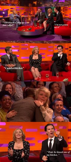 I love him xD <3 the quotes on this are a little off but still probably one of the funniest Graham Norton shows I have watched