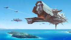 General 1920x1080 spaceships futuristic