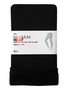 Maximum heat leggings- love these! my old pair are worn out from constant wear in the winter months!