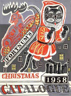 Fortnum & Mason Christmas catalog 1958     Edward Bawden