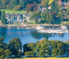 Lakeside Hotel, Lake District 1:15 train from Manchester 2:30 trading from London