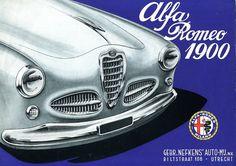 Alfa Romeo 1900 - brochure