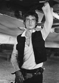 Harrison Ford as Han Solo in Star Wars.