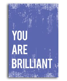 I love positive affirmation posters! Want them everywhere.