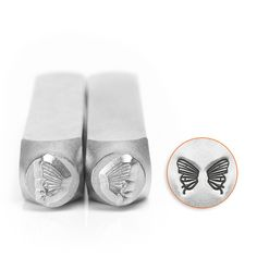 Butterfly Wings Design Stamps, 6mm, $15, ImpressArt