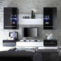 Erstaunlich Wohnzimmer Schwarz Weiß