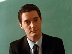 Kyle MacLachlan as Special Agent Dale Cooper in Twin Peaks