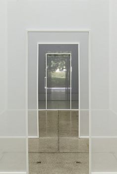 Robert Irwin, Double Blind, 2013.