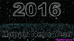 Happy New Year new years animated gif new year happy new year 2016 new years greeting new years friend New Year Animated Gif, Gif Animated Images, Happy New Year 2016, New Years 2016, Wish Come True, New Year Wishes, Stay Happy, Thought Provoking, How To Stay Healthy