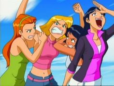 Oh man! Totally Spies :D