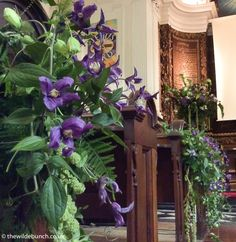 Church Wedding Flowers, Aisle Flowers, Pew Ends, Natural Design, Florists, Bristol, Big Day, Indoor Outdoor, Garland