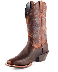 Country Outfitter: Ariat Legend Boot - Brown Oiled Rowdy
