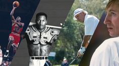 From baseball to football and swimming, these sports legends know a thing or two about drive, competition and going all the way.