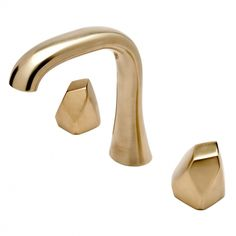 Isla High Profile Lavatory Faucet with Metal Geode Handles