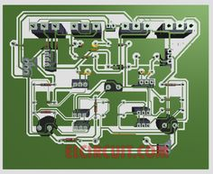 PCB Layout Power Amplifier 500W