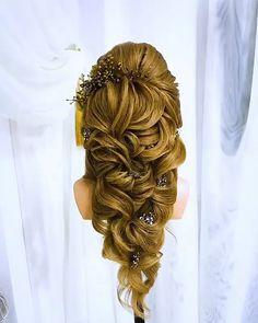 Wedding Bun Hairstyles, Elegant Hairstyles, Up Hairstyles, Braided Hairstyles, Types Of Hair Braids, Bridal Hair Tips, Homemade Hair Treatments, Hair Up Styles, Hair Color Techniques