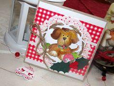 Kika's Designs : Christmas with Doggy