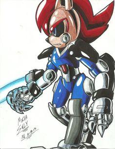 *SONIC OC*: Weaponized Mecha Sally by Armpit-Warrior on deviantART