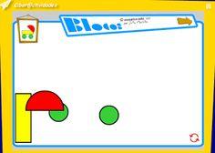 Resultado de imagen de blocos jugamos con las formas