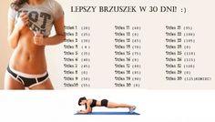 Lepszy Bruszek w 30 Dni - 30 Days Abs Challenge Plan Health 6Pax