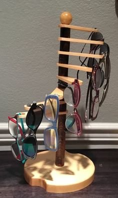details zu 5brillen brillenhalter brillenst nder display st nder brillenregal sonnenbrille diy. Black Bedroom Furniture Sets. Home Design Ideas