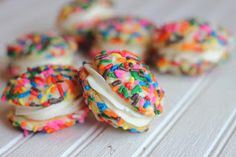 Confections from the Cody Kitchen: Best Ever Buttercream Frosting and Funfetti Inspired Whoopie Pies