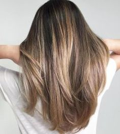 07 Beautiful Brunette Balayage Hair Color Ideas