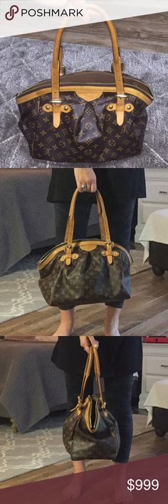 LOUIS VUITTON TIVOLI MONOGRAM GM PURSE LOUIS VUITTON TIVOLI GM MONOGRAM PURSE -good condition -cleaning and closet, haven't worn in a couple of years so decided I didn't need anymore.  -authentic -few pen marks on the inside -don't have dust bag or receipt Louis Vuitton Bags Shoulder Bags
