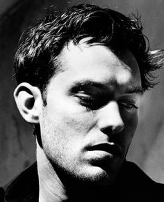 Jude Law   by Helmut Newton