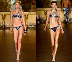 Blue Man Swimwear 2014 Summer Runway | Denim Jeans, Designer Brands ...