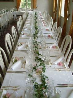 bordsdekoration bröllop - Sök på Google