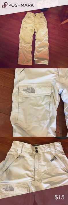 The North Face Girls snow pants Small! The North Face Girls snow pants Small!  Like new. Worn one time. NICE. FAST Shipping!!! The North Face Bottoms